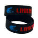 Fashion Linkin Park Ink-filled Colour Silicone Bracelet,silicone wristband