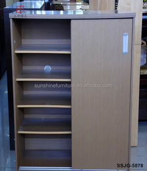 High Quality Wooden Shoe Cabinet Custom Rack