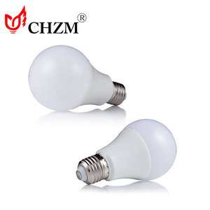 Led bulb supplier High Brightness Plastic coated aluminum led light bulb e27 led lighting bulb 3 5 7 9 12 watts 165-265V