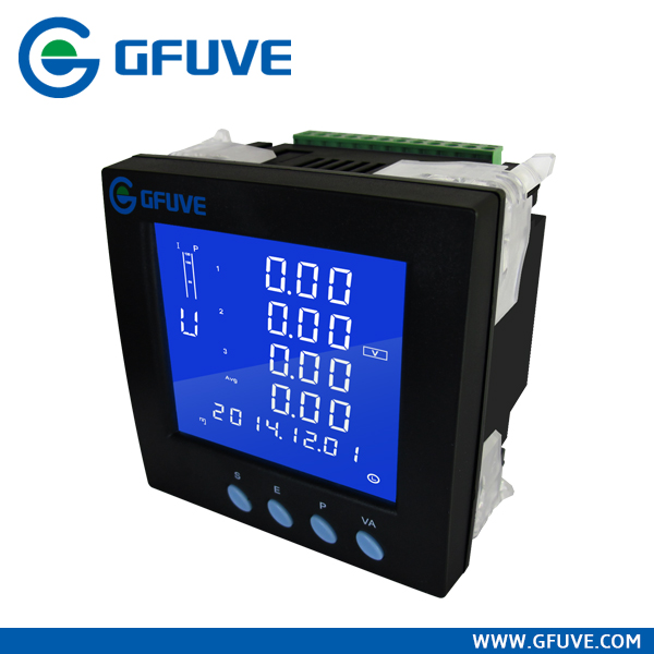 GFUVE FU2200B digital power meter Ethernet 10/100M port Power quality analysis