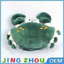 Wholesale Crab Animal Soft Plush Hot Water Bottle Cover Hand Foot Warmer Bag