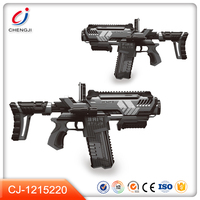 New popular plastic material 3d ar toy gun for kids