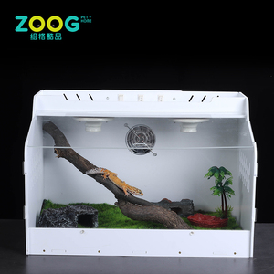 Factory custom clear acrylic reptile terrarium cage for sale