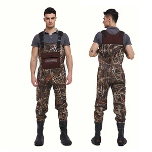 Factory produce Camo Neoprene Fishing Chest Waders