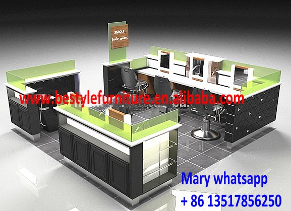 2016 Customized Size Beauty Salon Furniture Barber Shop