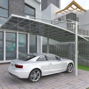 Cantilever car parking shed bike shelter outdoor aluminium car shade canopy