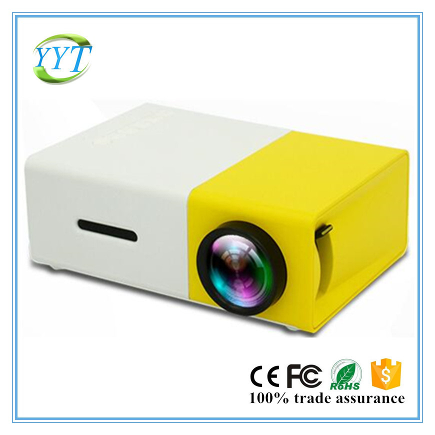 YG300 HDMI USB CinemaTheater Beamer YG300 Multimedia cheap Projector Game Mini Portable Home LED Pocket YG300 Projector