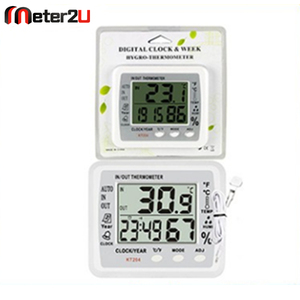 Hot Ambient temperature/humidity meter history digital thermometer