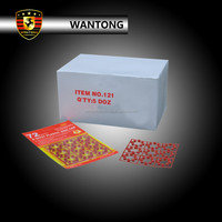 121 8 shots plastic disc cap toy fireworks for toy gun