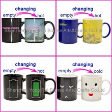 18 years manufacture color changing thermal mug,make color changing mug price