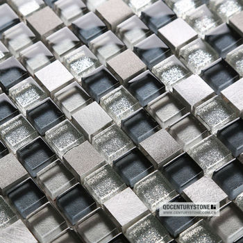 15x15 Small Square Glass Mix Metal Mosaic Types Of Decorative Tiles For Kitchen Buy Decorative Tiles For Kitchen Types Of Tiles For Kitchen Mosaic Tiles For Kitchen Product On Alibaba Com