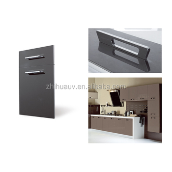 Modern full set kitchen furniture acrylic cabinet door for Full kitchen cabinet set