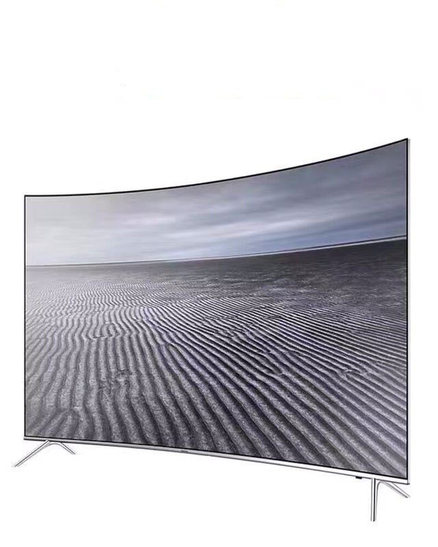 "49"" 55"" 65"" Real 4K Curved TV with Quad core processor, 8G memory and 1G DDR Size, support both WIFI and W-Lan"
