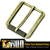 Fashion decorative metal belt buckle garment accessories