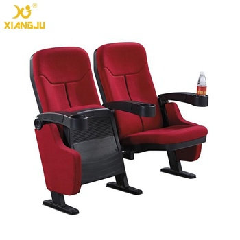 XJ 6803 Good Quality Simple Rocket Chair Church Cinema Auditorium Seater