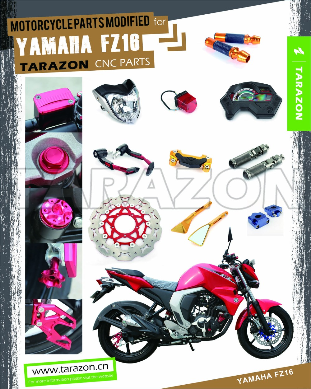 Tarazon motorcycle parts and accessories for yamaha fz 16 for Buy yamaha motorcycle parts