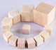 30mm Child craft Unfinished wooden blocks ,Customized wooden blocks child toys