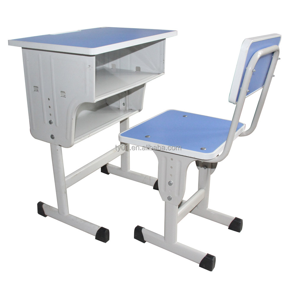 Modern school desk and chair - Height Adjustable School Desk Best Prices Comfortable School Desk With Bench