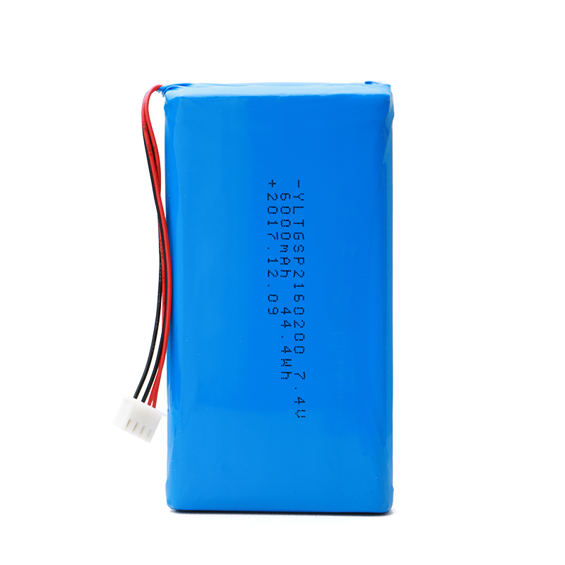 Isi Ulang Lipo 2S1P Lithium Li Ion Battery Pack 7.4 V 6000 MAh
