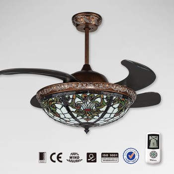 New Model Retractable Remote Control Orient Ceiling Fan
