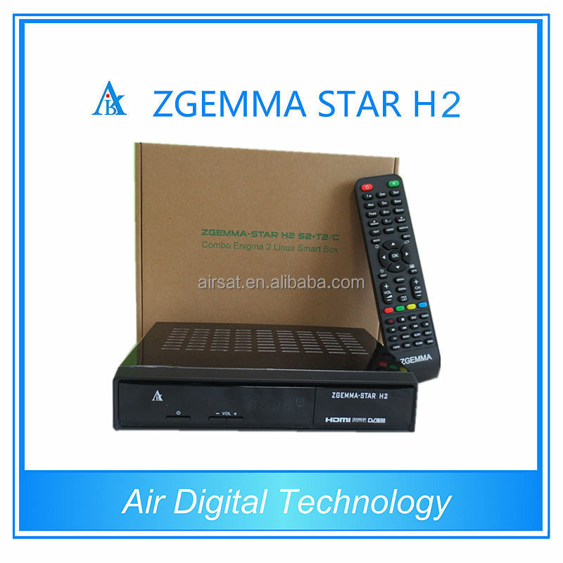 Zgemma-Star H2 best fta receiver tv box iptv account support, hot new products for 2015 for Canada