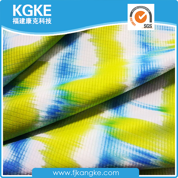 Breathable sportswear nylon spandex fabrics with UPF