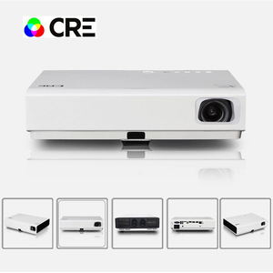 Home theater DLP Android projector HD 720P 3D bluetoo-th laser hybrid projector DLP smart laser projector 3000 LM
