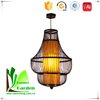 Elegant Top Quality Wholesale Bamboo Turkish Hanging Lamp
