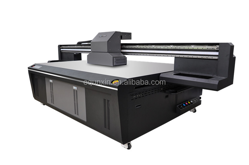 Gloss printing UV machine with Ricoh GH2220 printhead, 8 printhead UV vanish printing machine