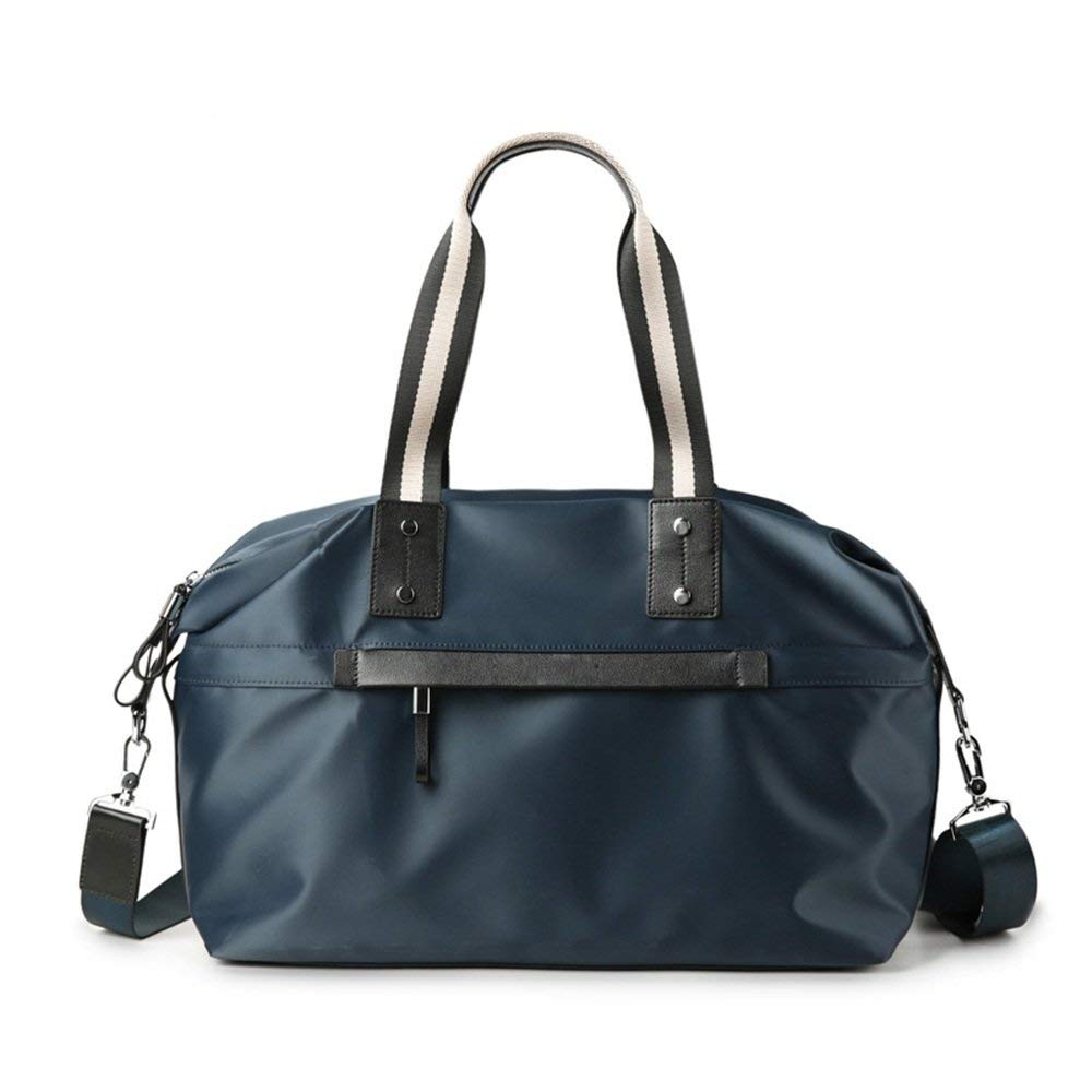 Crystalzhong Canvas Travel Bag, Men's Handbag, Cowboy, Leisure Canvas, Single Shoulder, Large Capacity Traveling Bag.