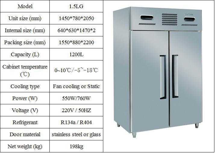 Single Temperature Type Stainless Steel Commercial