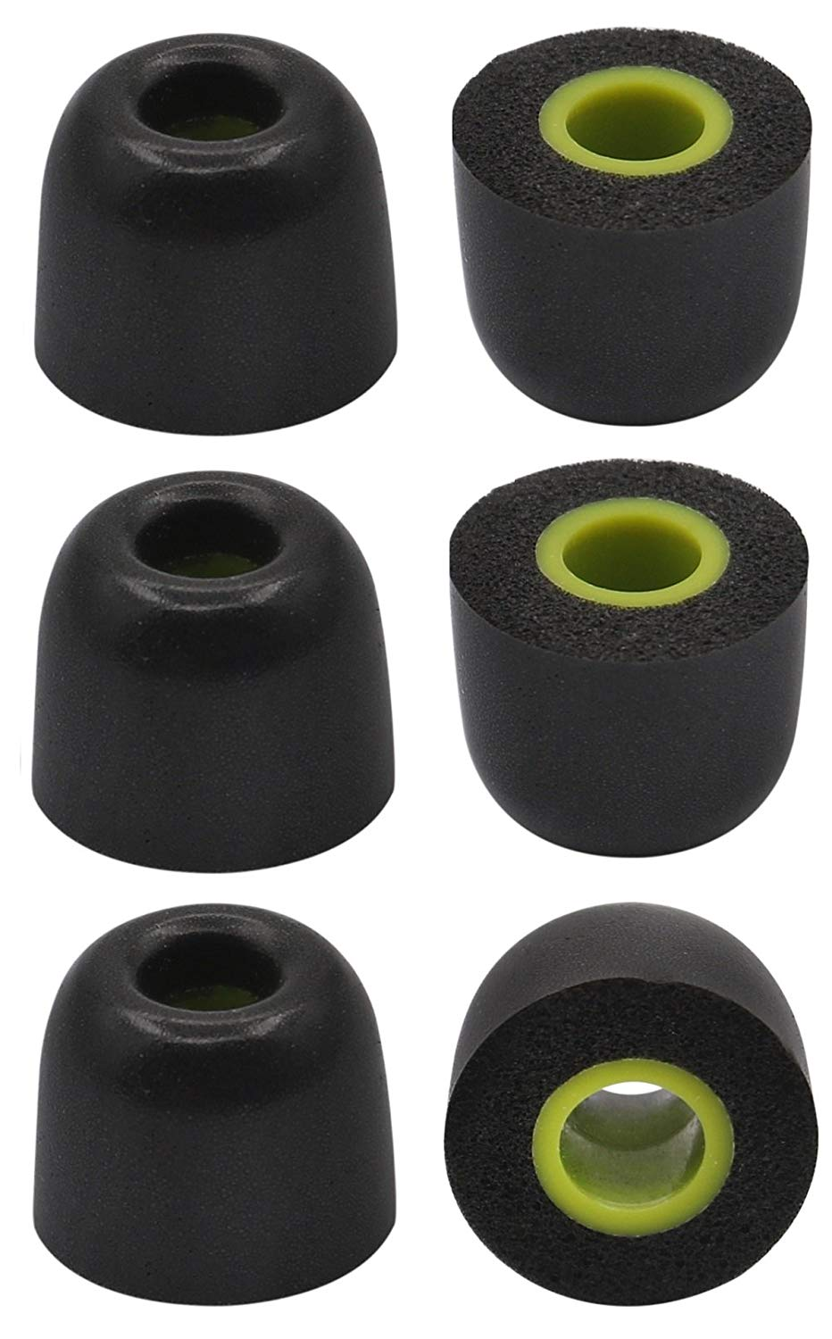 153b402708f Get Quotations · JNSA 6PCS Replacement Earbud Tips NoiseIsolation Memory  Foam Ear Tips M Size for Jaybird X2 Jaybird