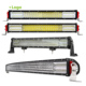 "E-Mark 4 Row Wholesale 22"" 32""42"" 50"" Led Truck Light 4x4 Aluminum Bar Offroad Curved 52 Inch Car Led Light Bar"