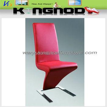 z form elegante moderne pu verchromt esszimmer stuhl - buy product, Esszimmer dekoo