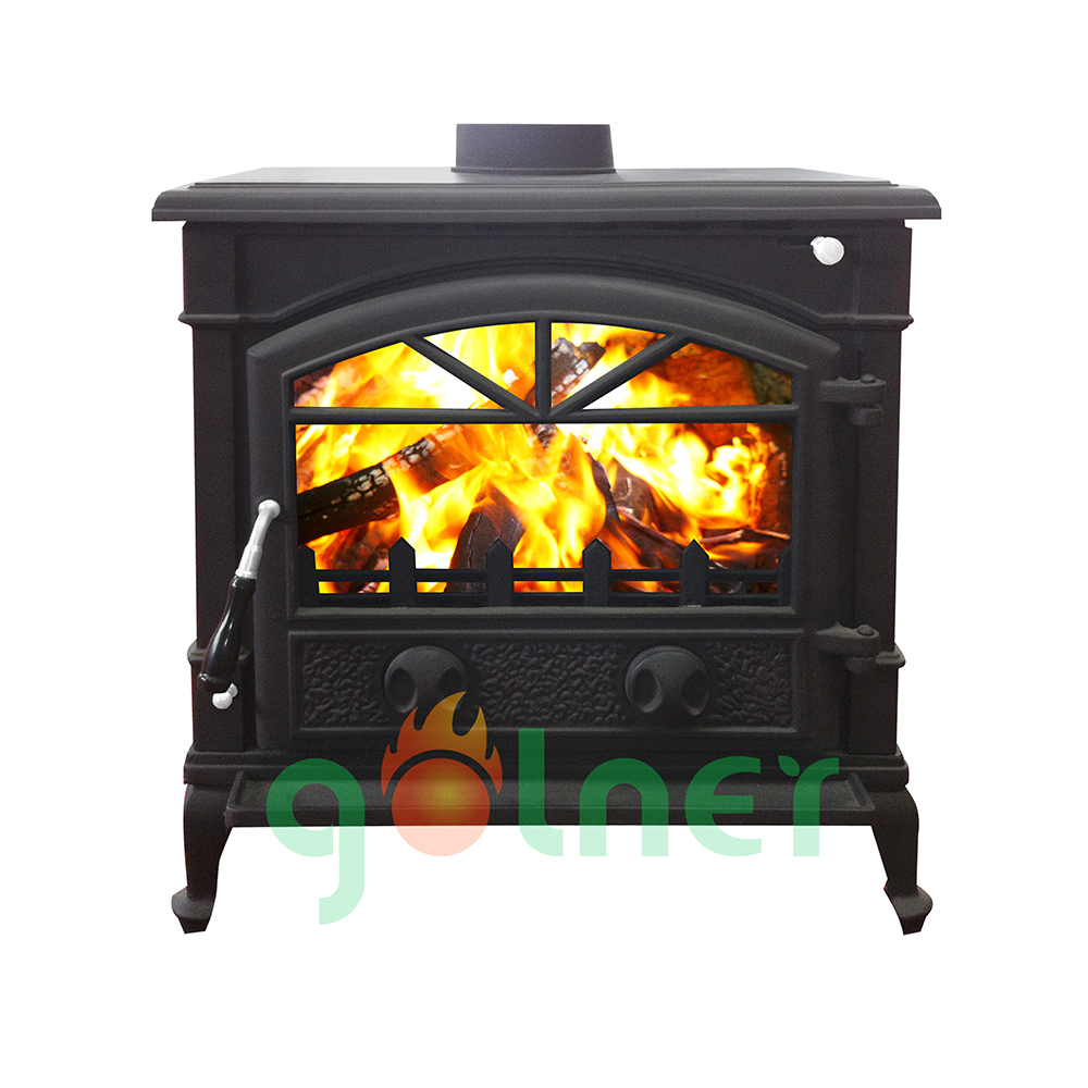 Z-11bl Cast Iron Wood Stove/indoor Wood Burning Stove/wood Stove - Indoor Wood Stove WB Designs