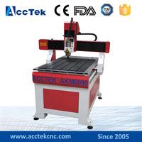 Jinan Acctek Cheap 4 Axis CNC Router for Wood Working Job AKM6090
