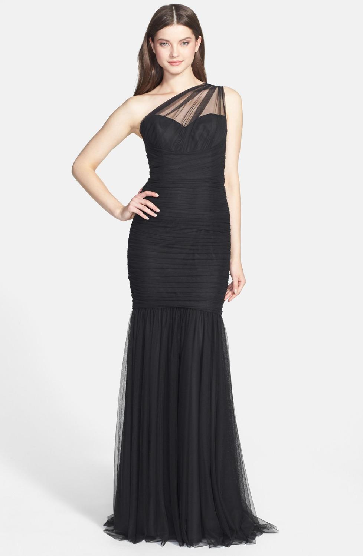 Cheap Black Floor Length Evening Gowns, find Black Floor Length ...