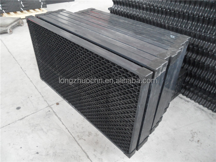 Drift Eliminator Cooling Tower Air Inlet Louver Pvc