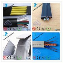 CE approval 24x1mm crane cable traction motor for elevator