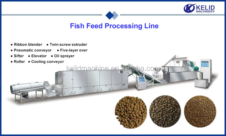 Hot Selling Floating Fish Feed Mill Plant
