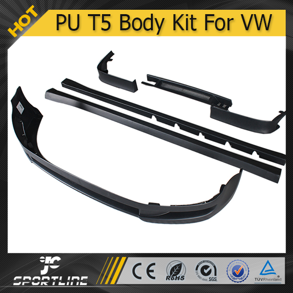 PU Transporter T5 Facelift Center Chrome Body Kit For VW Caravelle 2009 UP