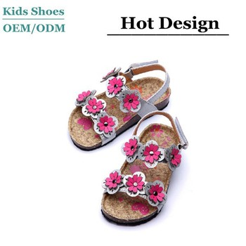 cbbebebd2 American Style Beach Holiday Fancy Girls Shoes Summer Toddlers Sandals  Children Shoes