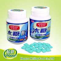 52g Super mint toothpaste chewing gum