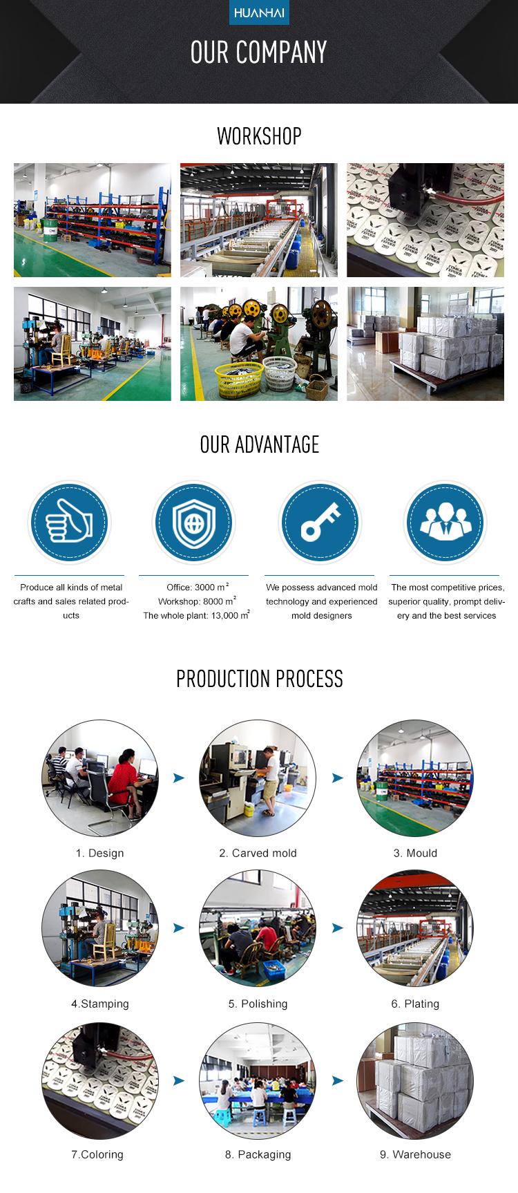 Cina produsen sampel gratis kustom massal logam enamel lembut kerah pin