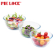 Glass mixing bowl oven microwave safe salad bowls fruit storage