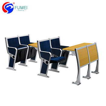 College School Classroom Folding Study Table And Chair, Modern School Desk  And Chair