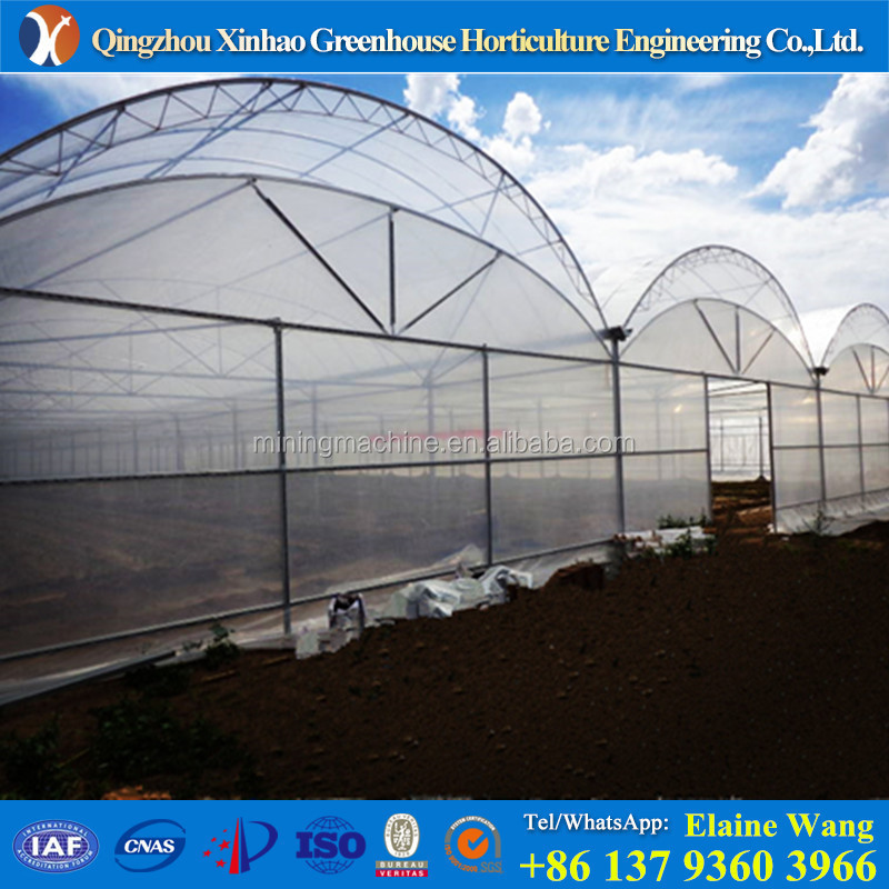 PROMOTION wet wall polythene cover light deprivation greenhouse