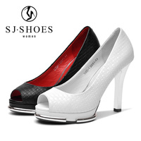 6087 Luxury fashion dress shoes leather women pencil high heel shoes for ladies