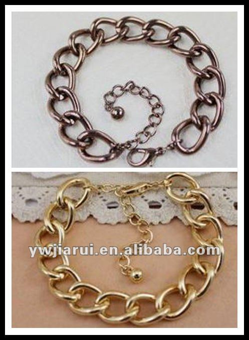 T105 fashion jewelry indian jewelry bracelets wholesale fashion accessory chain bracelets&bangles