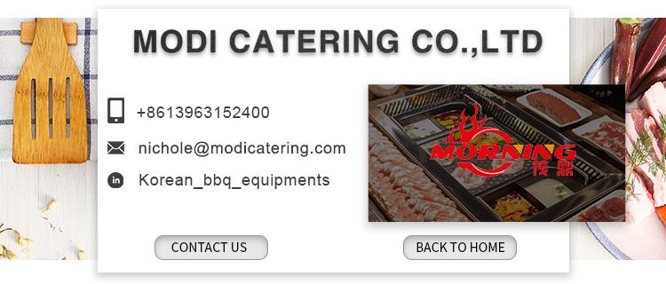 Commerciële rookloze koreaanse barbecue gas grill restaurant tafelblad bbq grill voor bbq shop